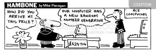 numerical cartoon