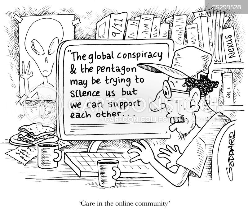 conspire cartoon