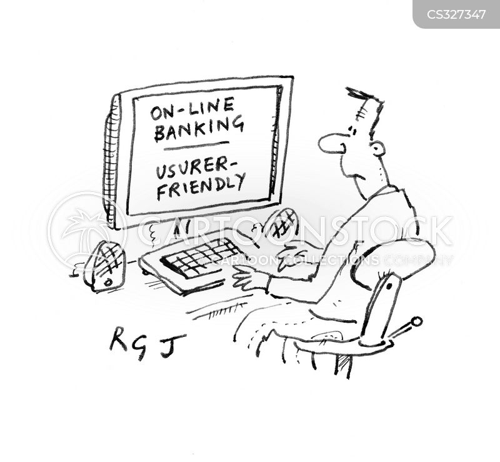 user friendly cartoon