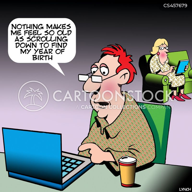 birth dates cartoon