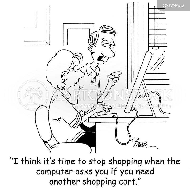 Shopaholic Cartoon, Shopaholic Cartoons, Shopaholic Bild, Shopaholic Bilder, Shopaholic Karikatur, Shopaholic Karikaturen, Shopaholic Illustration, Shopaholic Illustrationen, Shopaholic Witzzeichnung, Shopaholic Witzzeichnungen