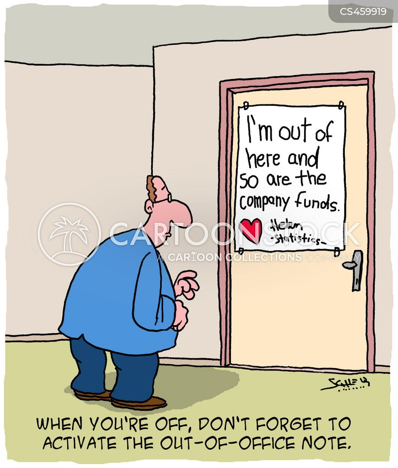 Out Of Office Cartoons And Comics Funny Pictures From Cartoonstock