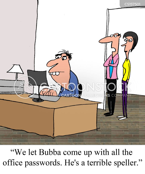 office passwords cartoon