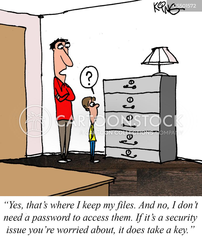 Password Accesses Cartoons And Comics Funny Pictures From Cartoonstock