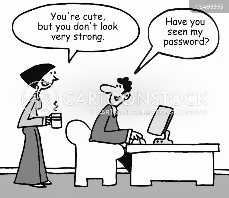 cyber-security cartoon