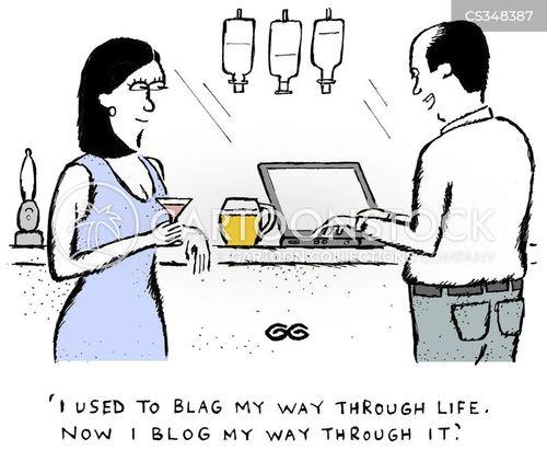 blags cartoon