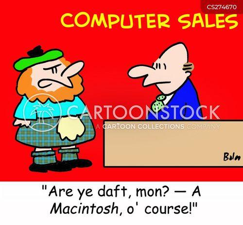 macintosh cartoon