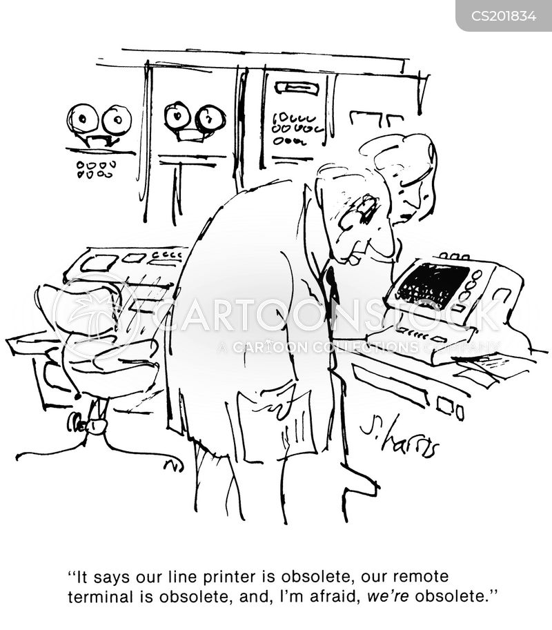 out-of-date cartoon