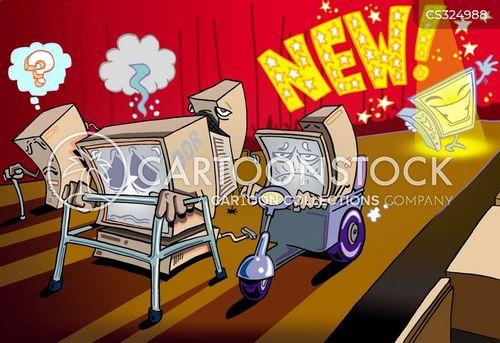 new models cartoon