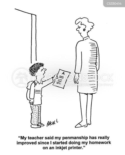 computering cartoon