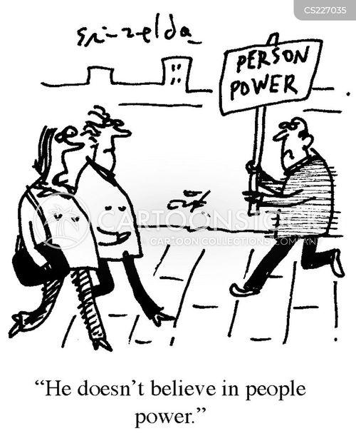 people power cartoon
