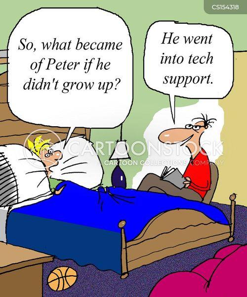 peter pan cartoon
