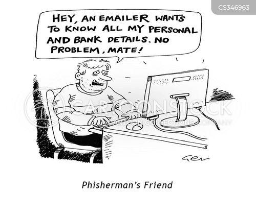 id fraud cartoon