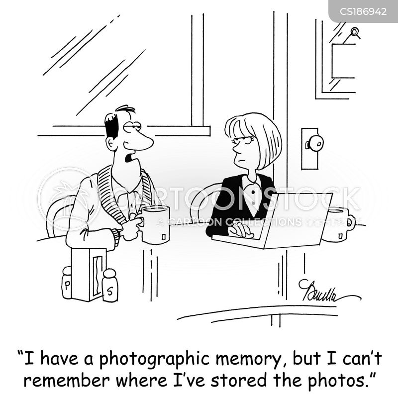 photographic cartoon