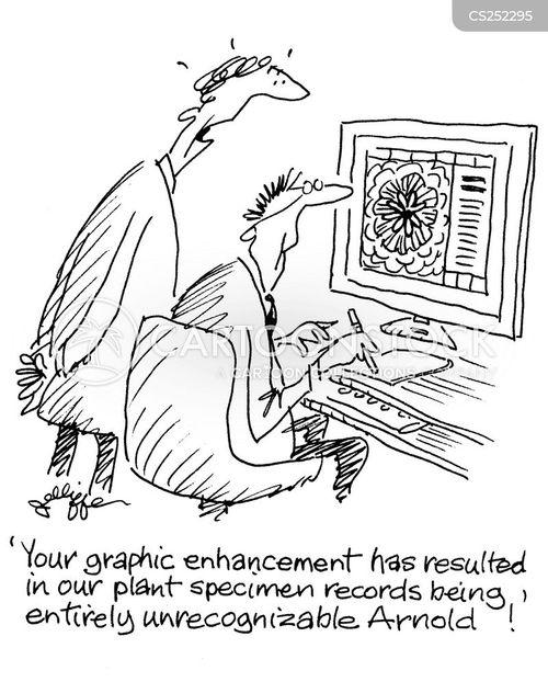 recognises cartoon