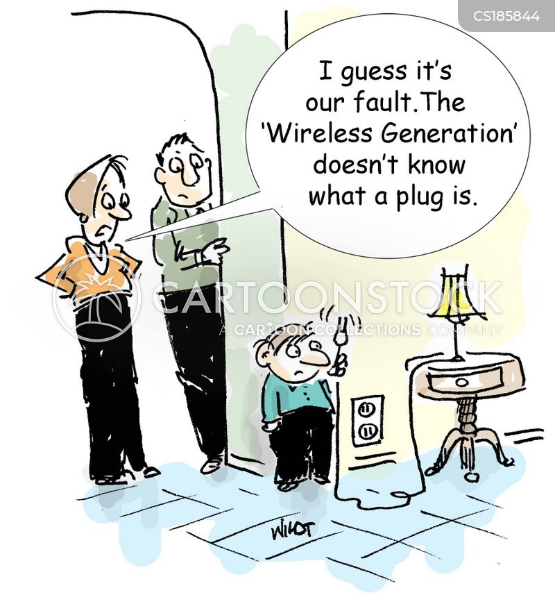 technological developments cartoon