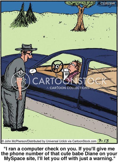 checked cartoon