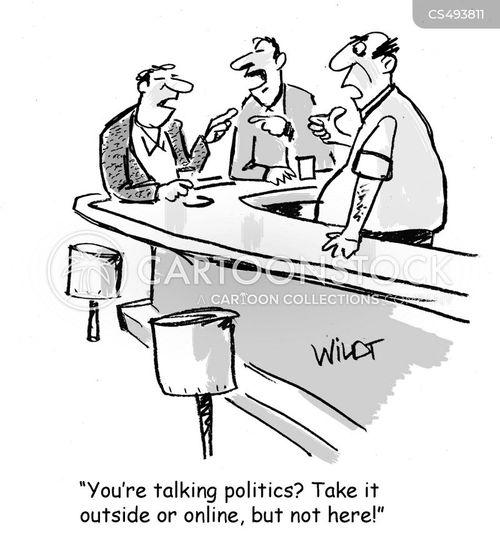 conversational topics cartoon