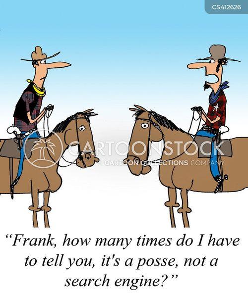 posse cartoon