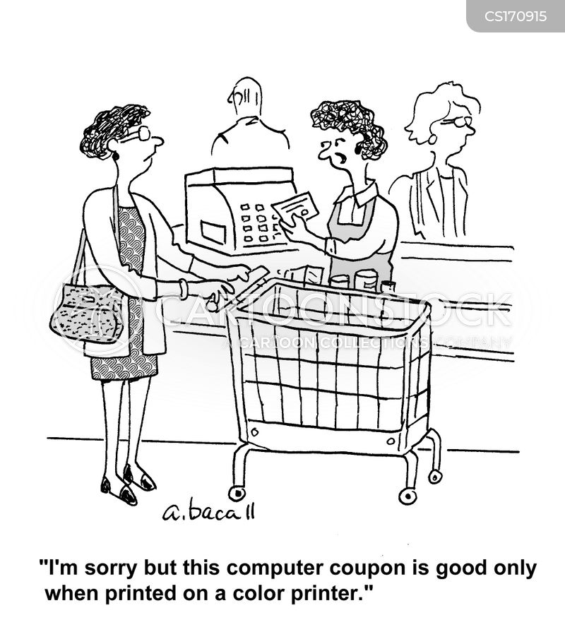 coupon cartoon