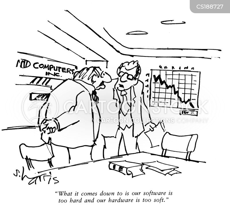 software companies cartoon