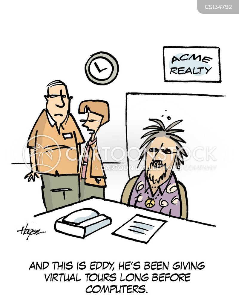 selling houses cartoon