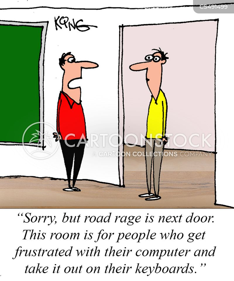 anger issue cartoon