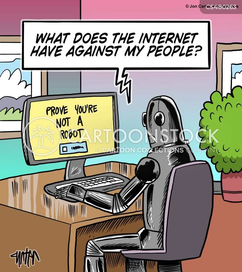 Bot Test Cartoons and Comics - funny pictures from CartoonStock