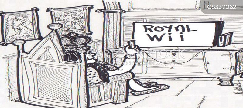 royal we cartoon