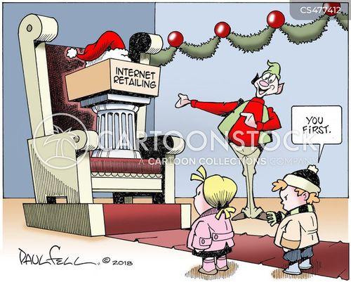 internet retailer cartoon