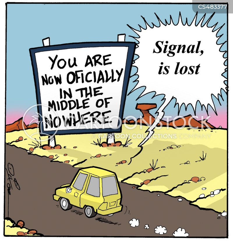 road to nowhere cartoon