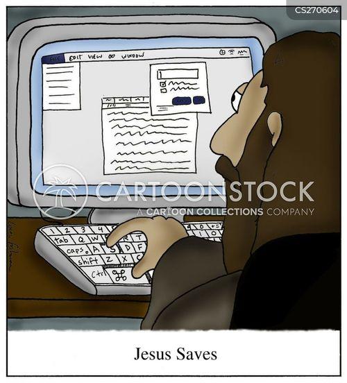 savior cartoon