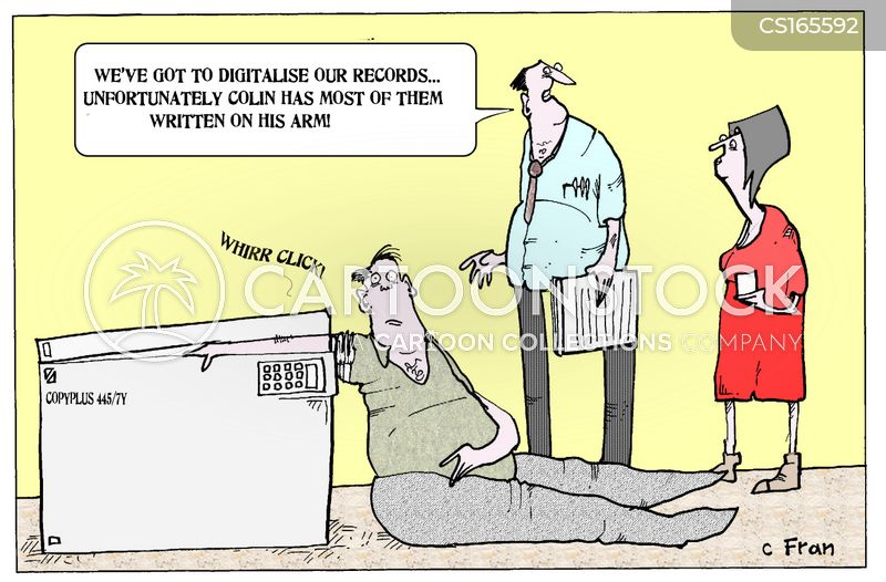 scanner cartoon