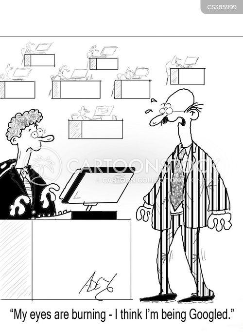 intranet cartoon