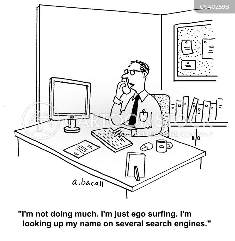 web surfs cartoon