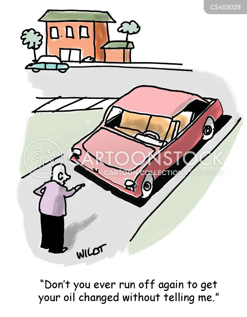 autonomous vehicles cartoon