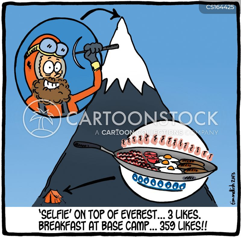 extreme sports cartoon