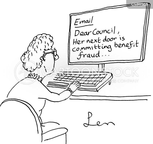 benefit fraud cartoon