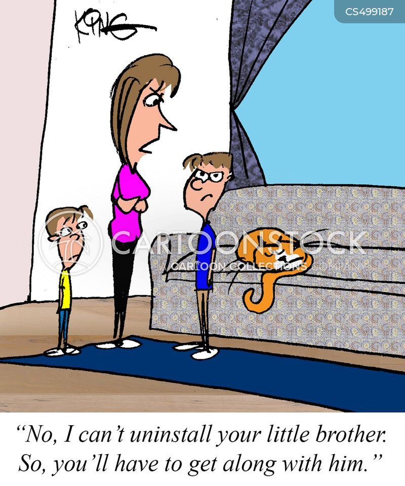 younger siblings cartoon