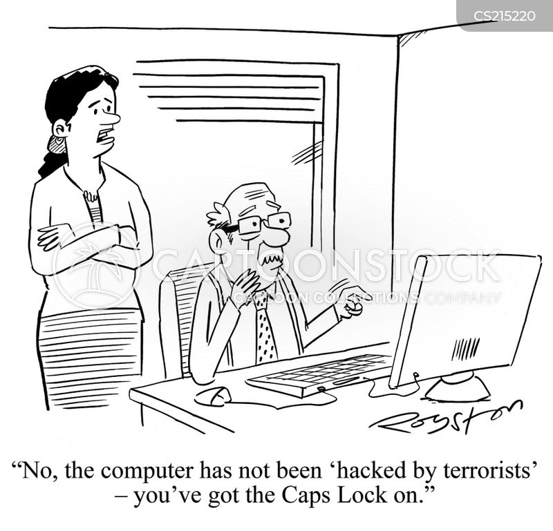 email account cartoon