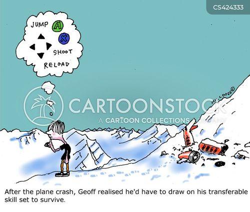 survival skill cartoon