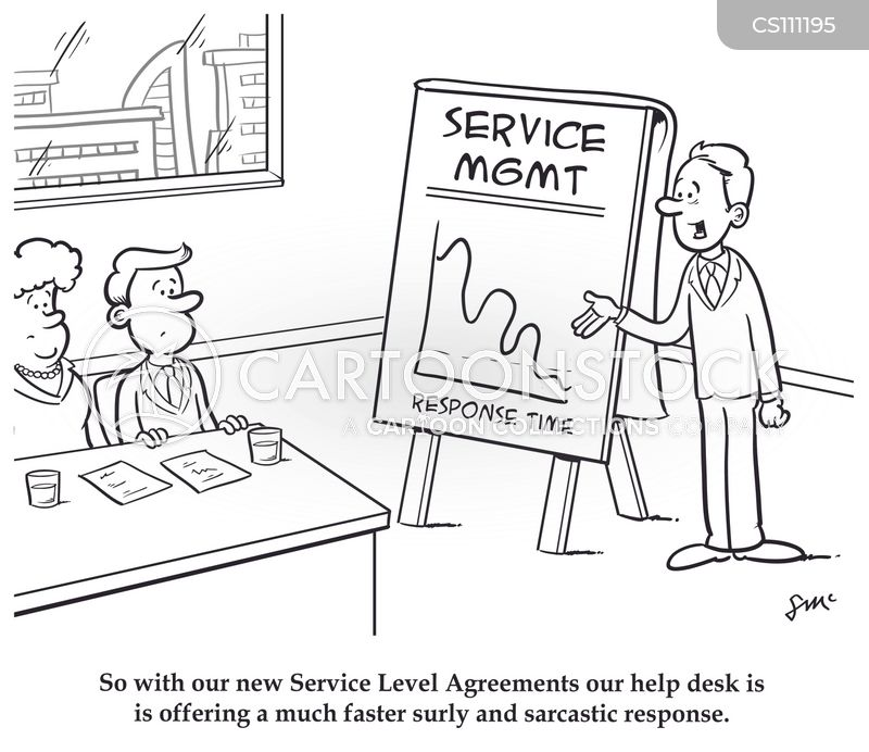 help desk cartoon