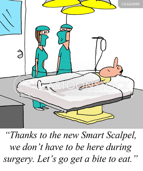 smart technology cartoon