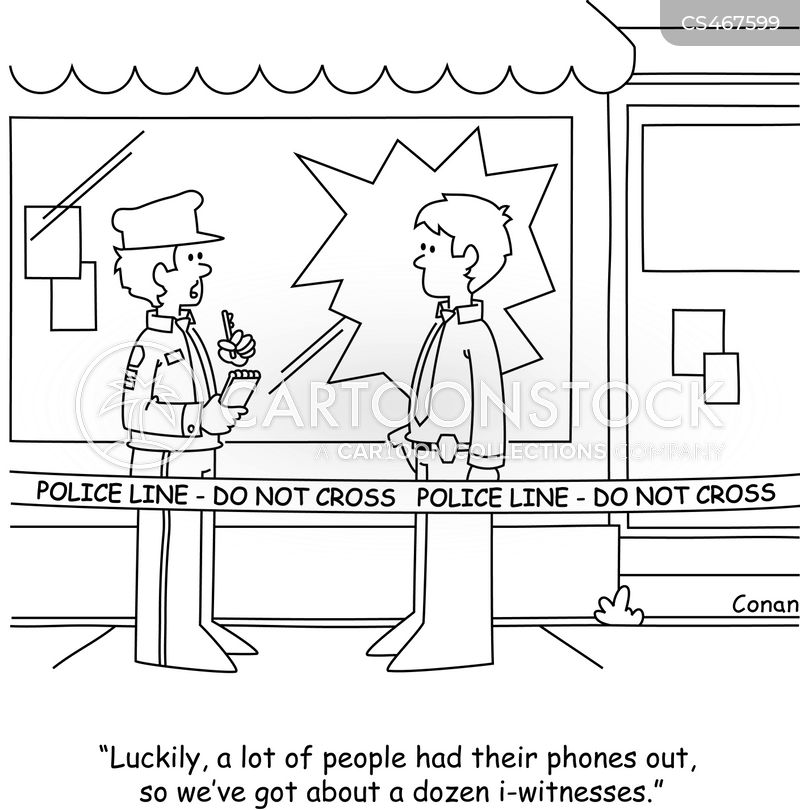 police reports cartoon
