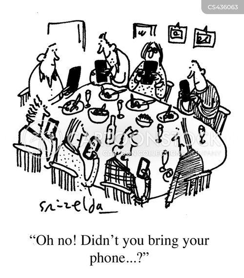 social interaction cartoon