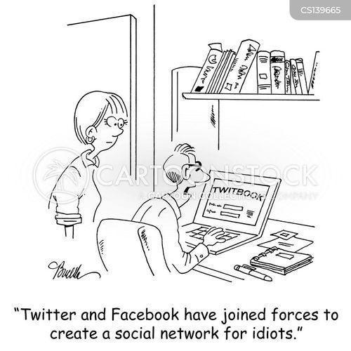 internet company cartoon