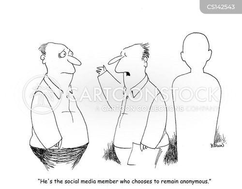 online communities cartoon