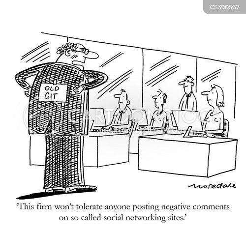 instant messaging cartoon