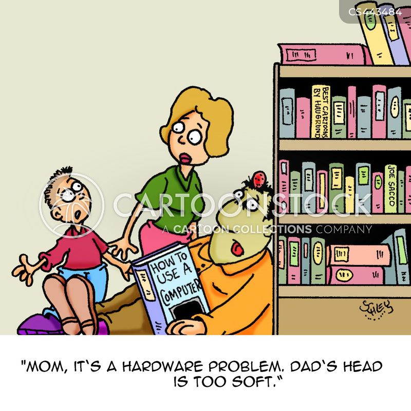 Computer Software Cartoons and Comics - funny pictures from CartoonStock