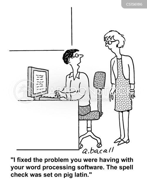 softwares cartoon